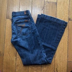 7 for all mankind jeans. Size 28.